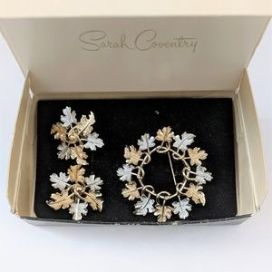 Vintage Sarah Coventry Set Garland 1968